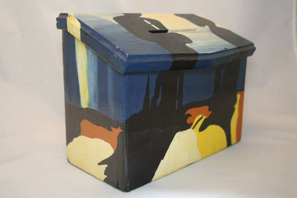 Dali Suggestion Box - Reminiscence of Millet's Angelus