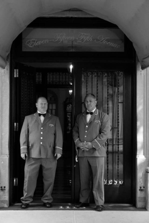 NYC Doormen near Central Park Photograph