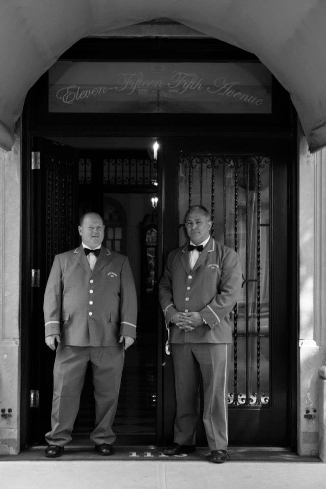 NYC Doormen near Central Park Photograph