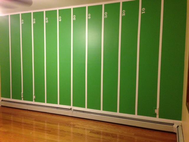 Football Field Mural