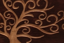 Custom Wedding Card Pine Wooden Box
