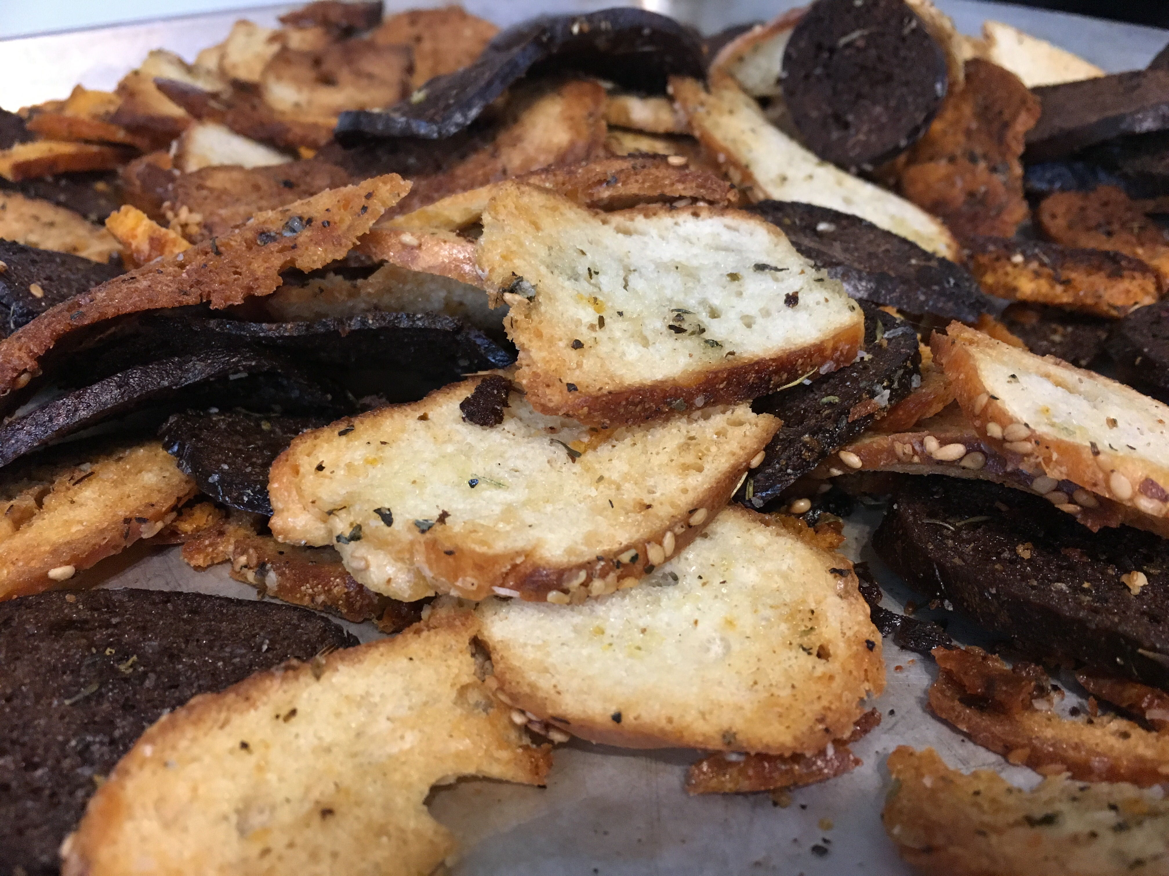 Savory Herb Bagel Chip Recipe