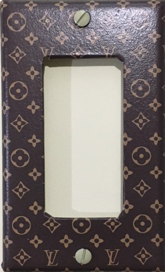 Louis Vuitton Light Switch Cover