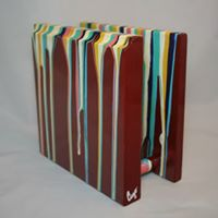 Hand-painted Red Napkin Holder