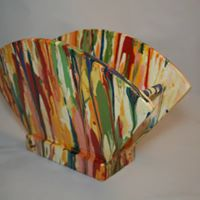 Multi-color Paint Dripping Napkin Holder