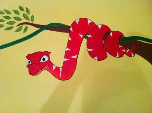 Snake Wildlife Mural