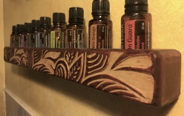 Essential Oil Holder for Wall or counter