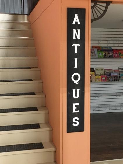 Custom made Antique shop sign for business